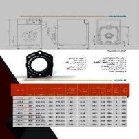ویژگیهای دیگ چدنی MI3 مدل L90