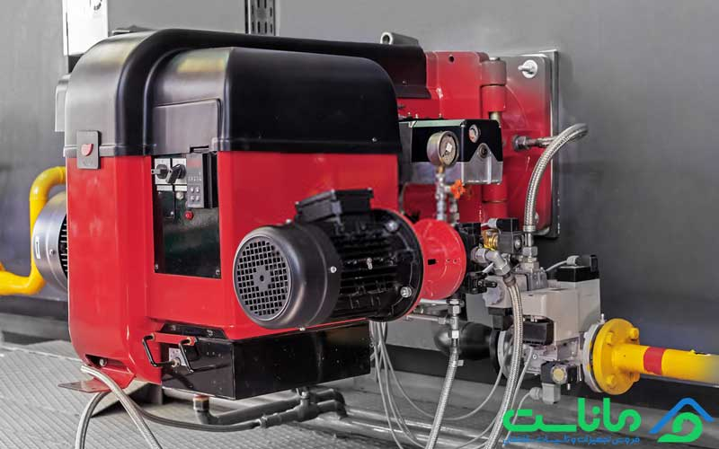 اجزای مشعل موتورخانه